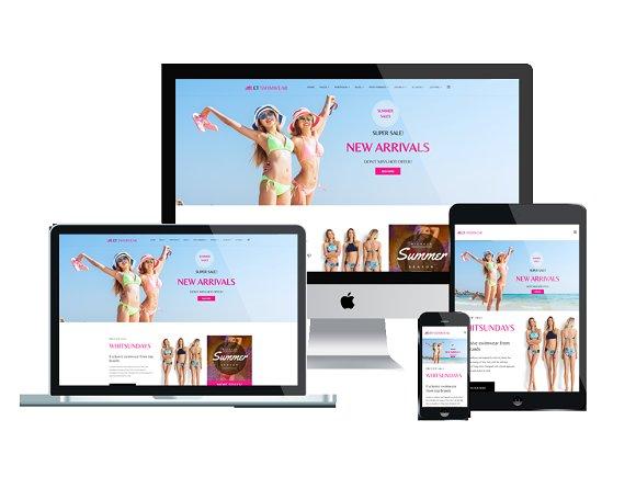 ET Swimwear Swimwear Store Joomla