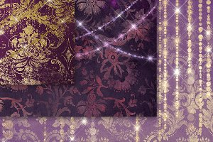 Enchantment in Purple Backgrounds