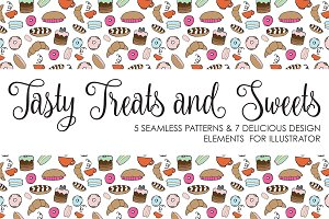 Tasty Treats & Sweets Pattern Set