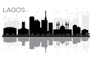 Lagos City skyline