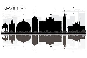 Seville City skyline