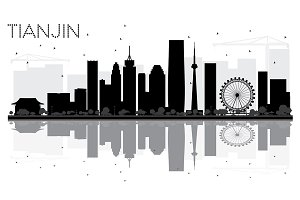 Tianjin City skyline