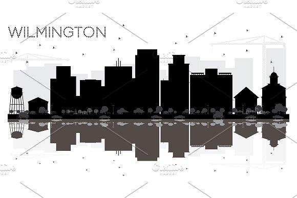 Wilmington City Skyline