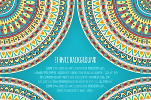 Ethnic Background Design
