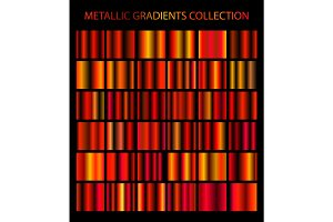 Metallic gradients collection №2