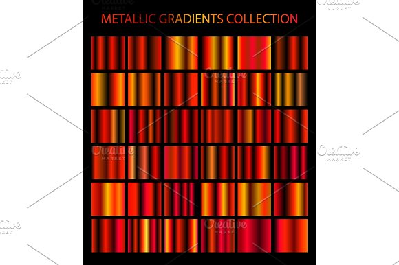 Metallic Gradients Collection Ўн2