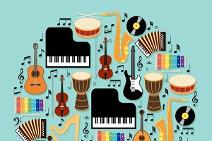 Musical Instruments Design