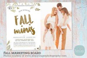 IW024 Fall Marketing Board