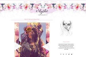 Feminine Boho Genesis Blog + Shop