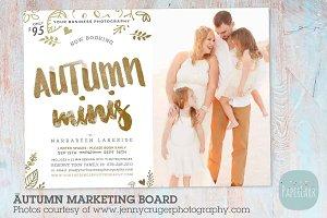 IW024 Autumn Marketing Board