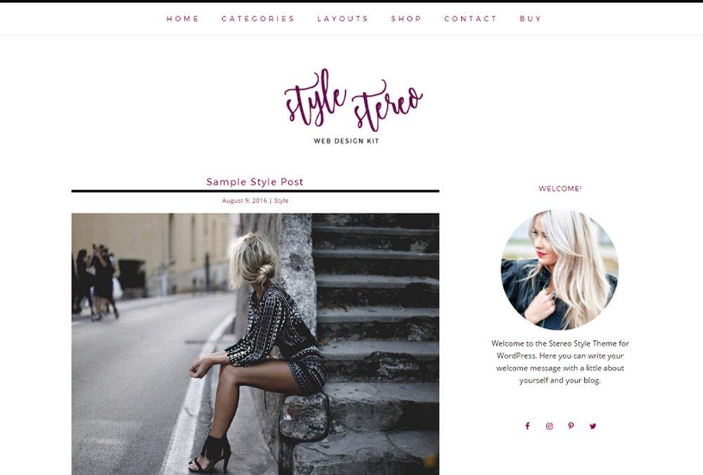 Stylish Responsive WordPress Theme ~ WordPress Blog Themes ...
