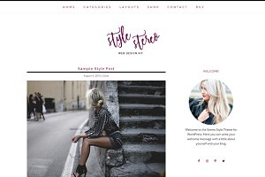 Stylish Responsive WordPress Theme