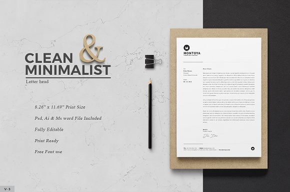 20 creative letterhead templates to make your brand stand out letterhead spiritdancerdesigns Images
