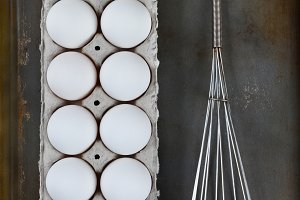 Eggs Whisk Baking Sheet