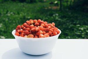 Vegetarian Strawberry Food