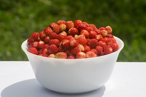 Vegetarian Strawberry Food