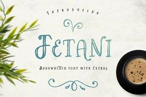 Fetani - Handwritten Font & Extras