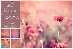 25 Summer Textures