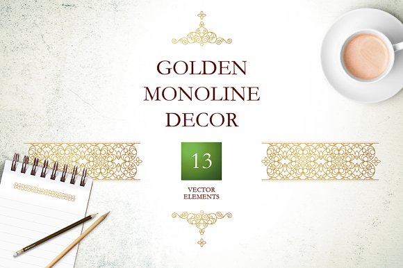 Golden Monoline Decor Vol 4