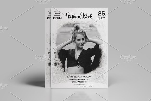 Fashion Week Flyer Template-V582