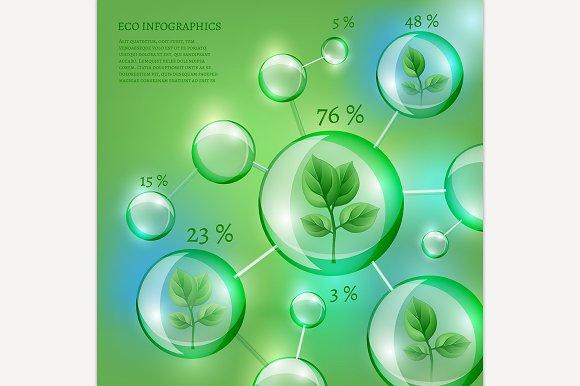 Bio Bubble Infographics