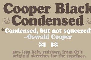 Cooper Black Condensed