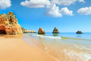 Atlantic Ocean coast, Portugal.