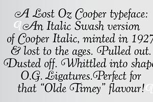 Cooper Italic Complete
