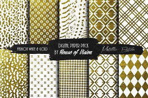 Fashion Wht and Gold Pack