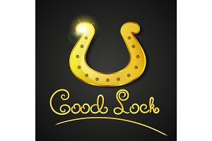 Good luck illustration