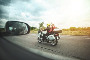 On the Road - Motorbike