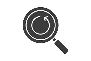 Refresh search glyph icon