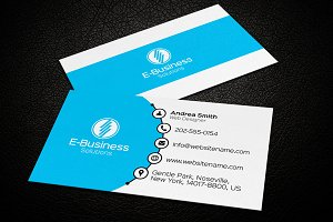 Clean Business Card 01