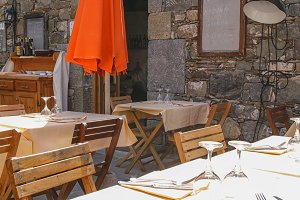 Italian outdoor restaurant