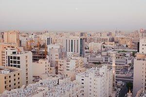 Morning in Doha, Qatar