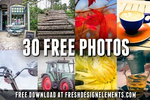 FREE PHOTOS - 30 Hi-Res