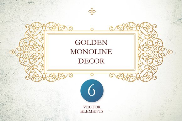Golden Monoline Decor Vol 3