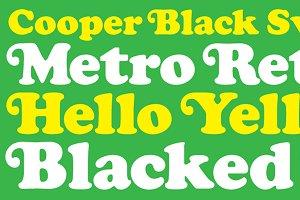 Cooper Black Swash