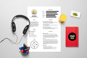 Power - Resume template Word