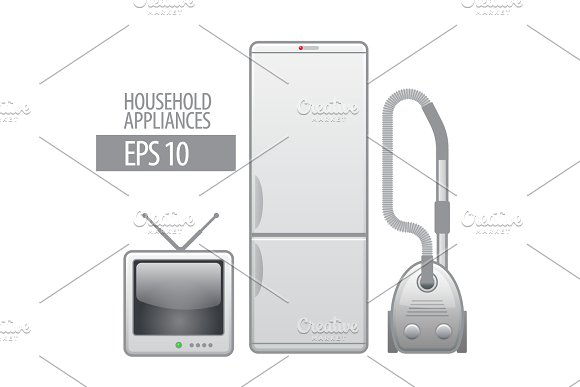 Household appliances in Objects