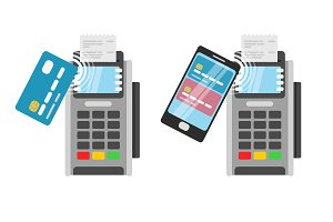Wireless Payment pos terminal