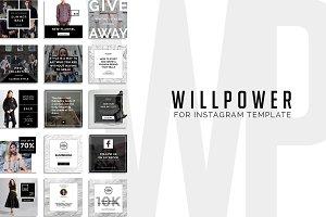 Will Power - Instagram Promotion
