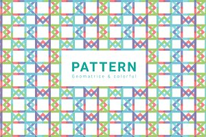 Geometric & Colorful Pattern