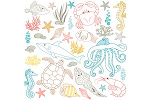 Digital Sea Life Set