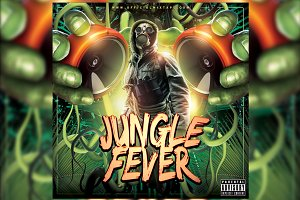 Jungle Fever Mixtape Cover Template