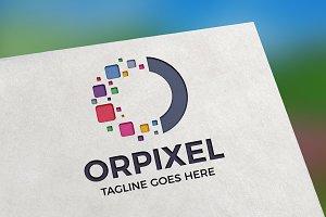 Orpixel (Letter O) Logo