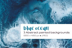 Blue Ocean Abstract Backgrounds
