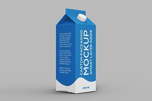 Carton Packaging Mock-up