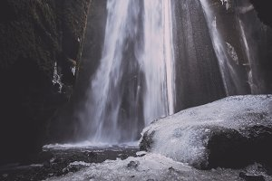 Waterfall in Winter #04