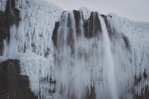 Waterfall in Winter #05